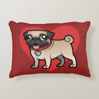 Cartoonize My Pet Decorative Pillow