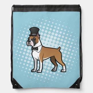 Cartoonize My Pet Drawstring Bag