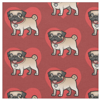 Cartoonize My Pet Fabric