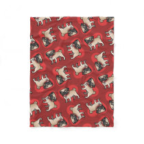 Cartoonize My Pet Fleece Blanket