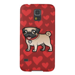 Case-Mate Barely There Samsung Galaxy S5 Case with Pug Phone Cases design
