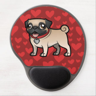 Cartoonize My Pet Gel Mouse Pad