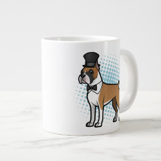 Cartoonize My Pet Giant Coffee Mug