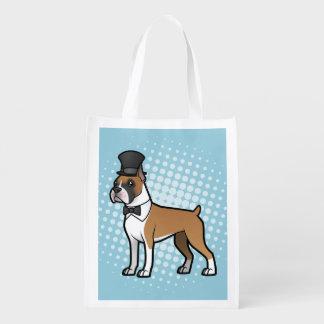 Cartoonize My Pet Grocery Bag