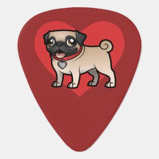 Cartoonize My Pet Guitar Pick