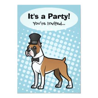 Cartoonize My Pet 5x7 Paper Invitation Card