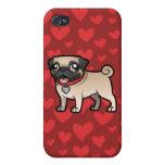 Cartoonize My Pet iPhone 4/4S Cases