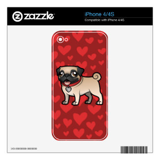 Cartoonize My Pet iPhone 4 Skin