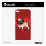 Cartoonize My Pet iPhone 4 Skins