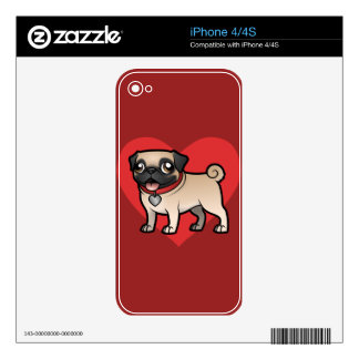 Cartoonize My Pet iPhone 4 Skins