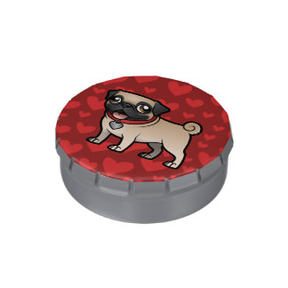 Cartoonize My Pet Jelly Belly Candy Tin