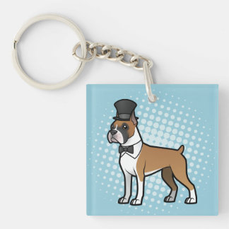 Cartoonize My Pet Keychain