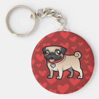 Cartoonize My Pet Key Chains
