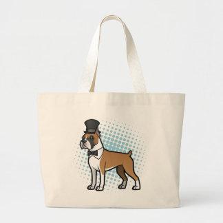 Cartoonize My Pet Large Tote Bag