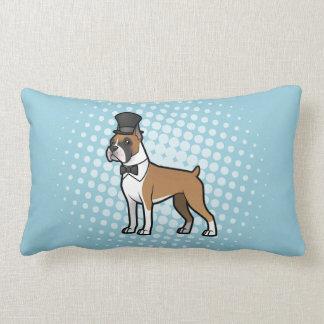 Cartoonize My Pet Lumbar Pillow