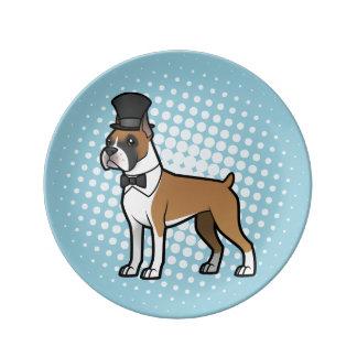Cartoonize My Pet Porcelain Plates