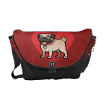 Cartoonize My Pet Messenger Bags