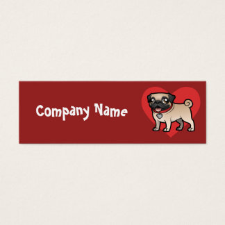 Cartoonize My Pet Mini Business Card