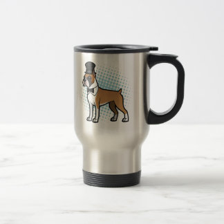 Cartoonize My Pet 15 Oz Stainless Steel Travel Mug