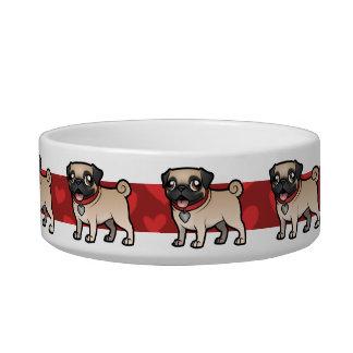 Cartoonize My Pet Pet Food Bowl