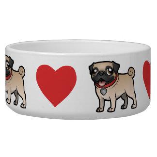 Cartoonize My Pet Dog Bowls