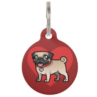 Cartoonize My Pet Pet ID Tag