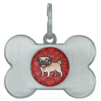 Cartoonize My Pet Pet ID Tag