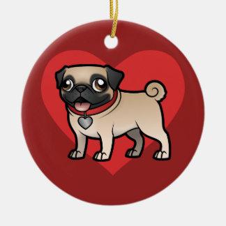 Cartoonize My Pet & Photo Ceramic Ornament