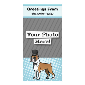 Cartoonize My Pet Customized Photo Card