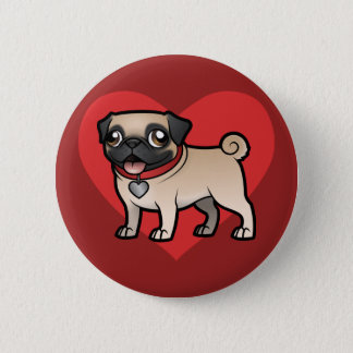 Cartoonize My Pet Pinback Button