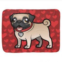 Cartoonize My Pet Receiving Blanket