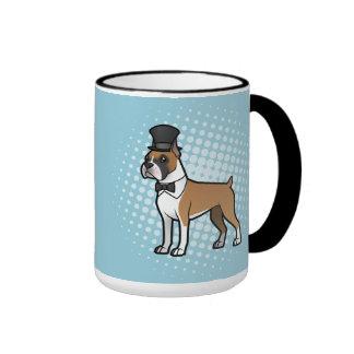 Cartoonize My Pet Ringer Mug
