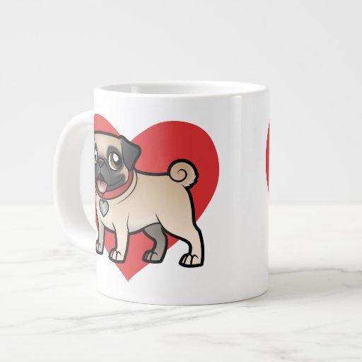 Cartoonize My Pet Jumbo Mugs