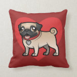 Cartoonize My Pet Throw Pillow at Zazzle