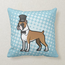 Cartoonize My Pet Throw Pillow