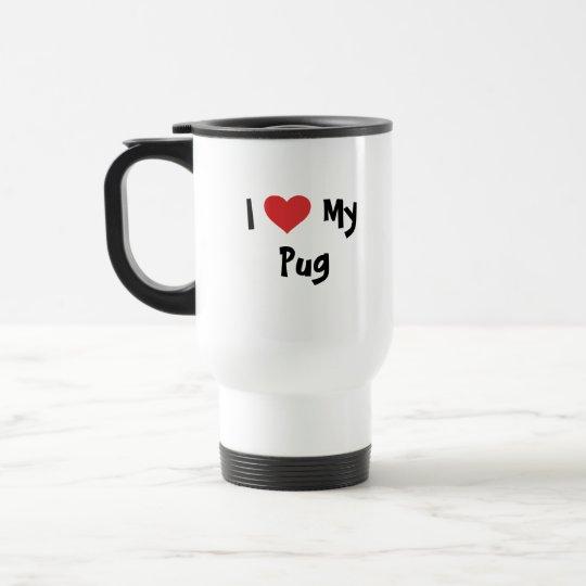 Cartoonize My Pet Travel Mug