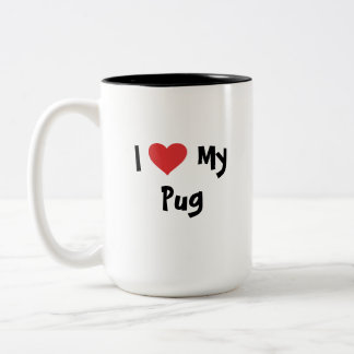 Cartoonize My Pet Two-Tone Coffee Mug
