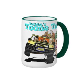 CARTOONS / BUBBA'S TOONE TEES / ALASKAN CARTOONIST RINGER MUG
