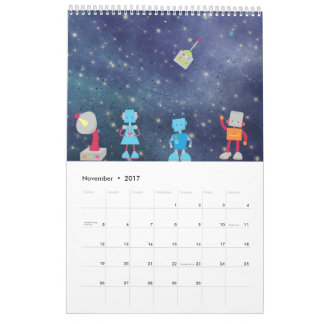 Cartoons in Space Calendar
