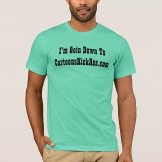 CartoonsKickAss.com T-Shirt