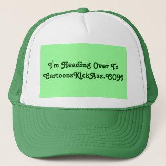 CartoonsKickAss.com Trucker Hat