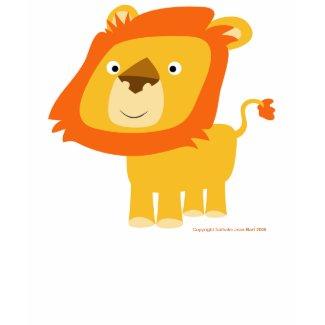 cartoony lion shirt