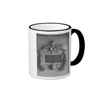 Cartouche from the Caryatids' Tribune Ringer Coffee Mug