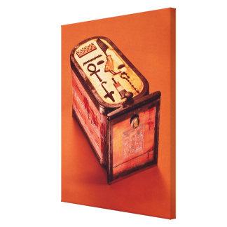 Cartouche-shaped box canvas prints