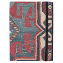 """Cartouche Star II 19th Century Colorful Red Blue iPad Pro 12.9"""" Case"""