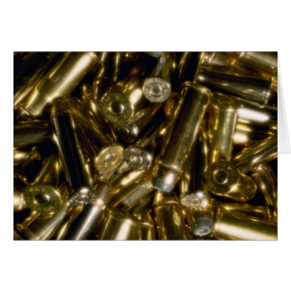 Cartridges, mixed .44 and .357 magnums in random p greeting card