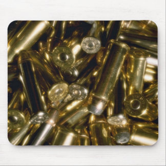 Cartridges, mixed .44 and .357 magnums in random p mouse pad