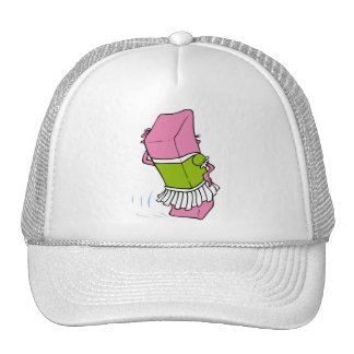 Cartton kids objects 6 trucker hat
