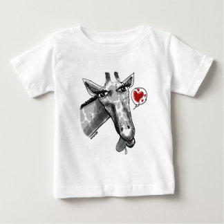 cartton style lovely giraffe baby T-Shirt