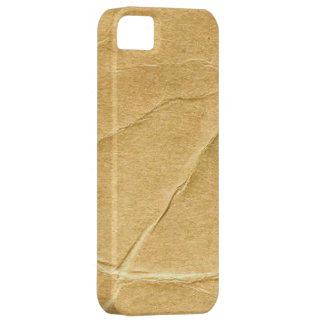 Cartulina arrugada iPhone 5 fundas